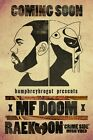 "MF Doom Daniel Dumile Hip Hop Silk Cloth Poster 36 x 24"" Decor 20"