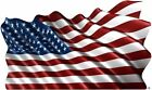 American Flag decal Camper RV motor home mural graphic