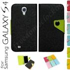 New Fancy Color Wallet Case for Samsung Galaxy S4 S IV G-I9500 - Free Shipping