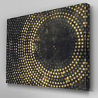 AB1035 Modern Yellow Vintage Lights Canvas Wall Art Abstract Picture Large Print