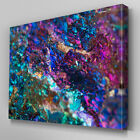 AB698 sparkle mineral geode stone Canvas Wall Art Abstract Picture Large Print