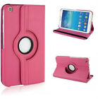 360 Rotating Flip PU Leather Case Cover For Samsung Galaxy Tab 3 8.0 SM-T310