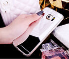 Slim Mirror Soft Gel TPU Chrome Cover Case For Samsung Galaxy S7/S7 edge/S6/S5
