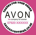 Personalised Round Avon Catalogue Products Address Stickers Labels Wholesale Lot
