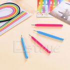 1PC Slotted Paper Quilling Tools Muticolor Plastic DIY Paper Craft New