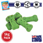 5KG BETTER BREATH WHOLEMEAL FLAXSEED BISCUIT HEALTHY DENTAL DOG TREATS w/ MINT