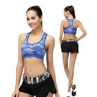Chic Women Camouflage Vest Fitness Gym Yoga Stretc Active Sports Running Top