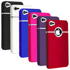 50X Deluxe Snap-on Hard Case With Chrome Ring For Apple iPhone 5S Wholesale