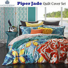 Piper Jade Quilt Cover Set by Logan & Mason  - QUEEN KING