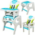 PINK BLUE High chair Adjustable Feeding Chair 2in1