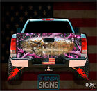 Mallard 5 Pink OakTailgate Wrap Laminated Decal Very Durable Free Shipping