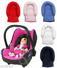 Infant Baby Toddler car seat , stroller travel head support pillow TERRY COTTON
