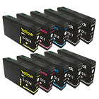 10 Ink Cartridges for Epson WorkForce WP-4515DN WP-4525 WP-4525DNF WP-4535