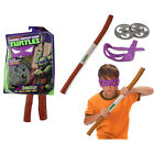 Cartoon TMNT Teenage Mutant Ninja Turtles Weapons Swords Eyemasks Toy PVC Model