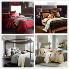 Silky Luxury Queen/King Size Bed Doona Covers Cotton Quilt/Duvet Cover Set Linen