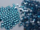 Swarovski Aquamarine Crystals Non Hotfix Rhinestones for Nail Art Decoration