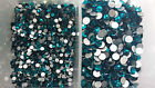 Swarovski Blue Zircon Crystals Non Hotfix Rhinestones for Nail Art Decoration