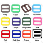 "3/4""(20mm)Colorful Triglides Adjust Buckle For Dog Collar Harness Backpack Strap"