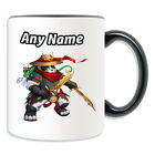 Personalised Gift Pandaren Rogue Mug Money Box Cup World Warcraft WOW Male Game