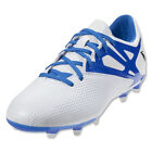 adidas Men's Messi 15.3 FG White/Prime Blue/Black B34360