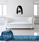 DAVE GROHL FOO FIGHTERS MINIMALIST STICKER WALL ART GRAPHIC VARIOUS COLOUR