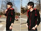 Men's Hooded Jacket Sweater Cardigan