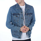 Mens Levis Trucker Medium Stonewash Denim Jacket