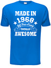 50th Birthday Present Born in 1966 Mens 50th Gift Mens T Shirt  Size S-XXL