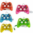 2 PCS USB Wired Game Controller For Microsoft Xbox 360 Slim&PC Afterglow US Ship