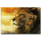 Chronicles Of Narnia Aslan Lion Silk Poster 12x18 24x36 inch Wild Animals 001