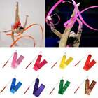10 Colors Gym Dance Ribbon Rhythmic Art Gymnastic Streamer Baton Twirling Rod