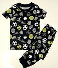 GYMBOREE SLEEPWEAR NAVY w  SPORTS EQUIPMENT 2pc PAJAMAS GYMMIES 4 NWT