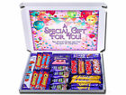 GREAT FOR ANY OCCASION PERSONALISED RETRO SWEETS / CHOCOLATE GIFT HAMPER