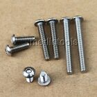 Select M6 - M10,L:8 - 100mm Stainless Steel Allen Button Dome Socket Head Screws