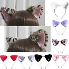 Orecchiette Party Cat Fox Long Fur Ears Anime Neko Costume Headband Cosplay UK