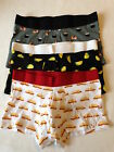 H&M 3 Pack Cotton Stretch Trunks SUSHI TACOS HOT DOGS TRUNKS Sizes S,M,L,XL NEW