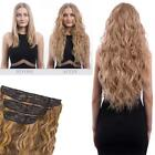 Koko couture deluxe thick 3 piece weft beach wave clip in hair extensions