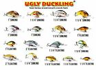 UGLY DUCKLING LURES NO 3 ASSORTED 100% AUTHENTIC 30 YEARS OLD BRAND NEW IN BOX