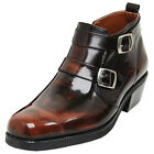 Epicsnob Men Shoes Dress Formal business Casual Belt stylish Ankle Leather Boots
