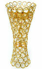 New Jeweled Acrylic Crystal Pillar Candle Holder Holiday Decoration (5405)