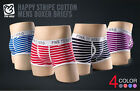 2pcs / 1 Lot PINK HERO Striped Mens Sexy Underwear Shorts Boxers CN047