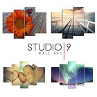 Personalised Split Panel Canvas -  4 & 5 Panel Design! Your Photo Gift Wall Art