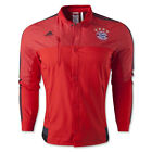 adidas Men's FC Bayern Munchen Anthem Jacket Red M36356
