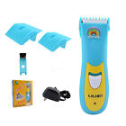 Baby Kids Hair Trimmer Clipper Cut Soundless Electronic Infant Low Noise