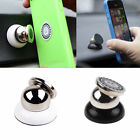 Universal 360° Car Mount Sticky Magnetic Stand Holder For Smart Phone iPhone 6S