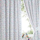 Bluezoo Spotty Curtains From Debenhams
