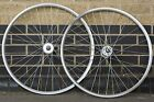 Solid Track Wheels | Single Speed & Fixed Gear Flip Flop Hub | Silver 700c