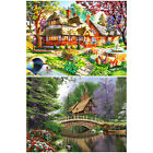 DIY Full Drill Bridge River Home Diamond Painting Wall Decor 30*24cm Decoration