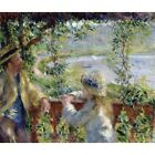1879 Pierre-Auguste Renoir By The Water Impressionist Painting Art New Poster