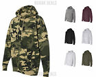 Independent Trading Co Mens Hooded Pullover Sweatshirt Hoodie S-3XL IND4000